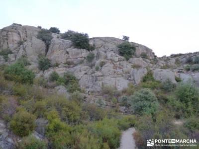Peñaliendre y Canto Hastial a la Luz de la Luna;rutas trekking madrid rutas senderismo por madrid